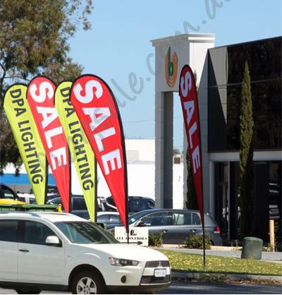 Teardrop Banners Perth